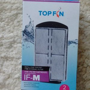 Free! Top Fin 2 count 4 in 1 filter cartriges IF-M